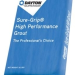 Bag of High Perf Grout